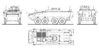 Free Blueprints Mowag Piranha Iiic Blueprint Download Free Blueprint For 3d Modeling