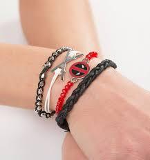 stacking bracelets deadpool stacking bracelets