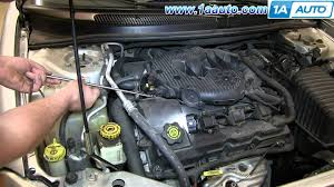 how to install replace manifold pressure map sensor 2001 06