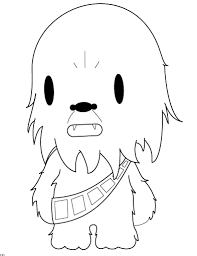 easy outlines chewbacca chibi outlines by nirvanaatje on deviantart
