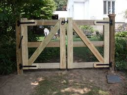 Fence Ideas Double Gate Gardening Pinterest Gates Yards - Backyard gate designs
