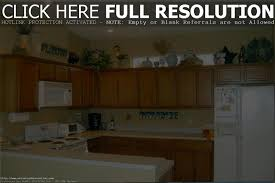 ideas for decorating the top of kitchen cabinets kitchen design