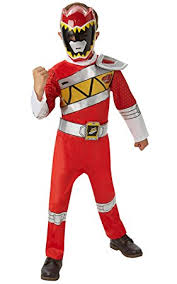 rubie u0027s official power rangers dino charge deluxe red ranger