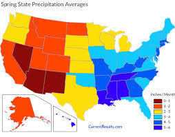 us weather map by month precipitation averages for each usa state current results