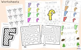 free letter f printable pack fun with mama