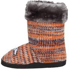 womens boots denver denver broncos peak knit boots