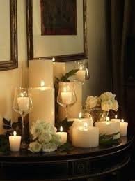candle arrangements candle decoration at home masters mind