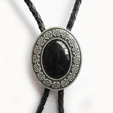 black tie necklace images Wholesale western men bolo tie new silver plated small size jpg