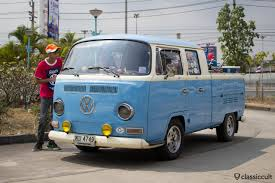 volkswagen microbus 1970 siam vw festival 2014 bangkok thailand classiccult