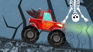 halloween special monster trucks for kids youtube