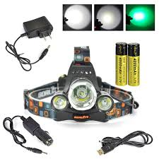 green hunting light reviews boruit headl with green light green coyote hog hunting light