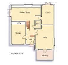 A Three Bedroom House Plan A Three Bedroom Renovated 1970s House Homebuilding U0026 Renovating