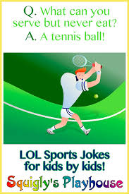 sports jokes at squigly u0027s playhouse