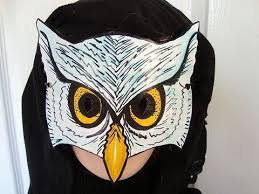 owl mask how to make an owl mask masquerade carnival mardi gras