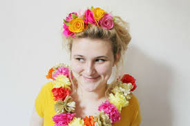 flower headdress diy felt flower headdress craftfoxes
