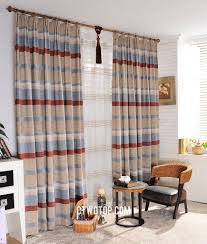 rustic wholesale beige red noise reducing curtains
