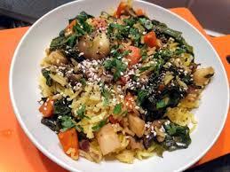 panais cuisine riz parfumé au curcuma avec carottes panais chignons et