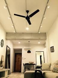 inspirational ceiling fan track lighting kit 24 in hampton bay kara track lighting with ceiling fan track lighting kit