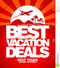 best vacation deals design template stock photos image 25519963