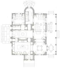 architect floor plans pennoyer s floor plan of a house in the country