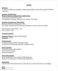 Senior Software Engineer Resume Template Sample Resume For Electronics Engineer Senior Software Engineer