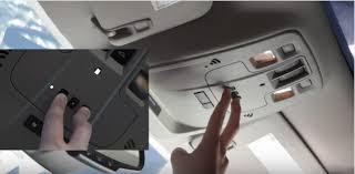 Reprogram Garage Door Opener by How To Program The Garage Door Opener In Your Chevrolet Bachman