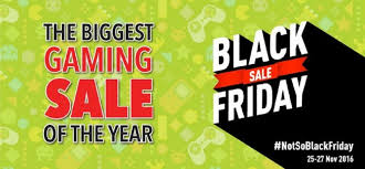 best black friday deals 2016 gamers games the shop announces black friday sale india going live tonight