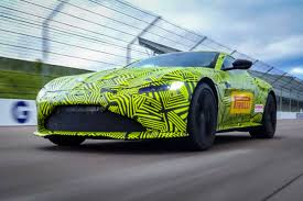 aston martin racing green max verstappen meets the new aston martin vantage 9tro