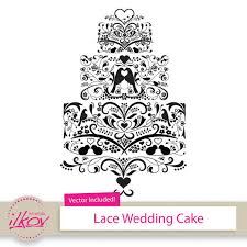 wedding cake clipart birds lace wedding cake clipart for wedding invitations