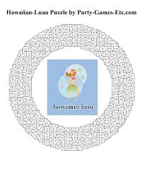 hawaiian luau party games free printable games and activities for