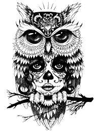 Owl Tattoos - best 25 owl tattoos ideas on owl