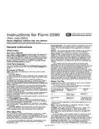 form 2290 tax computation table heavy highway vehicle use tax return form templates fillable