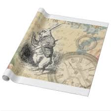 pocket watch wrapping paper zazzle
