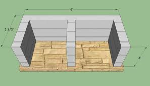 Building A Cinder Block House Bbq Pit Plans Howtospecialist How To Build Step By Diy Home