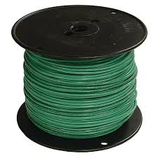 The Home Technology Store Southwire 500 Ft 2 Green Stranded Al Thhn Wire 56274505 The