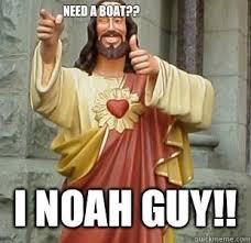 Buddy Christ Meme - there is a cult offshoot of christianity in china that believes