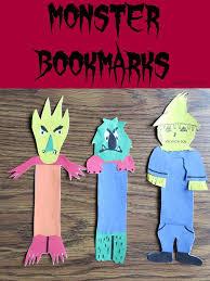 printable goosebumps bookmarks monster bookmarks goosebumps movie craft idea for kids monster