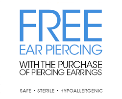 sterilized ear piercing studs macy s ear piercing find a piercing location near you