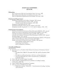 elementary resume exles principal resumes elementary schools sidemcicek principals and