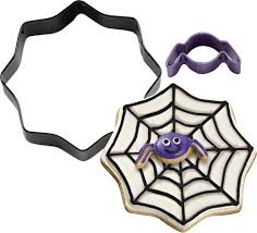 amazon com wilton 2308 0897 spider web and spider cutter set