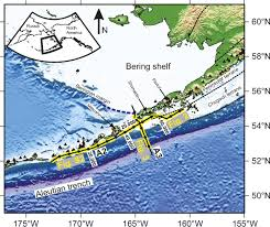 Aleutian Islands Map Seismic Reflection Imaging Of Ultradeep Roots Beneath The Eastern