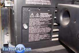 dlp tv light bulb replacement how to replace jvc ts cl110u l enclosure for your projection tv