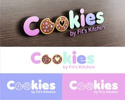 gallery logo design for cookies by fit u0027s kitchen