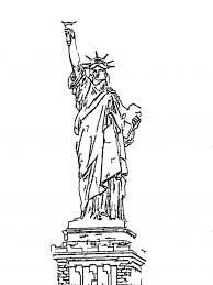 statue of liberty coloring page to print for free brandsomasz com