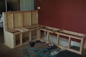 built in bench in kitchen u2013 pollera org
