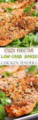 Low Carb Comfort Food Low Carb Baked Chicken Tenders The Chunky Chef