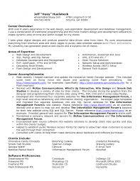 example profile for resume cover letter template for resume career overview example sample gallery of resume career overview example