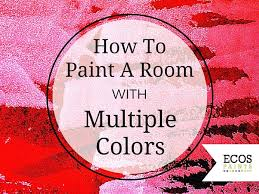 painting with two colors ecos paint blog