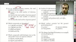 january 2013 chemistry regents exam walkthrough questions 25 27