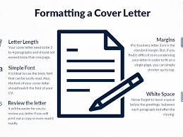 infographic how to format a cover letter frs recruitment